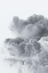 smoke cloud explosion
