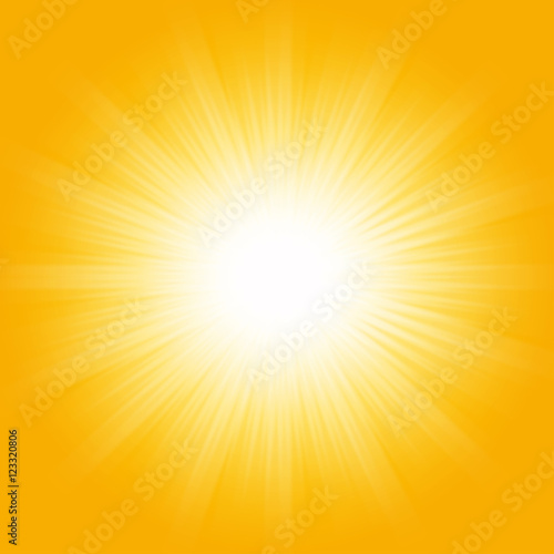 Bright sunbeams shiny summer background with vibrant for Bright vibrant colors