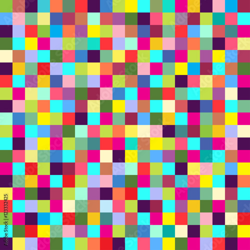 """""""Geometric seamless pattern of square, abstract background ..."""