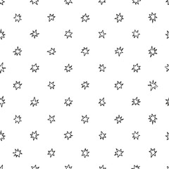 Simple seamless pattern with stars.