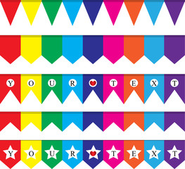 party flag background