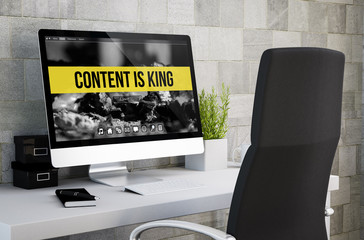 industrial workspace content is king