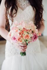Bride's bouquet background