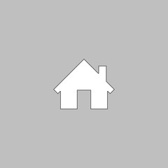 Home computer symbol