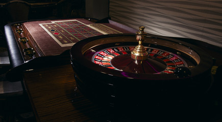 Roulette table