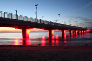 Pier , Molo, Kolberg, Kołobrzeg
