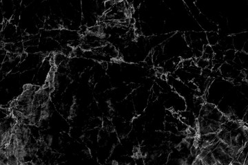 Black marble texture background, abstract texture for tiled floor, interior and exterior pattern design