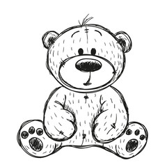 Drawing Teddy bear