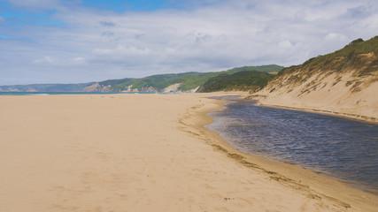 Johanna River und Johanna Beach an der Great Ocean Road, Australien
