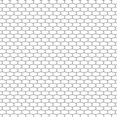 Vector illustration seamless pattern fish scales, net