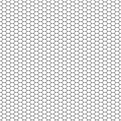 Vector illustration seamless pattern intersecting the small circles