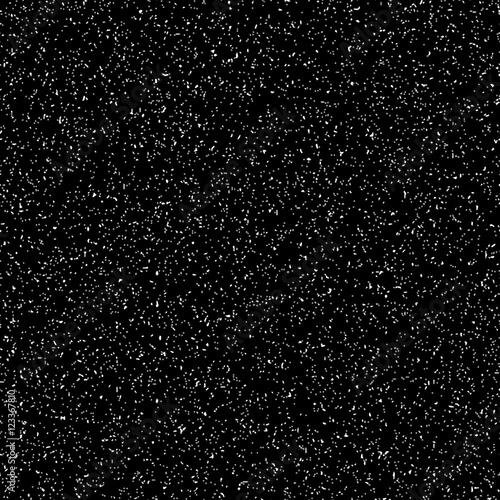 Black abstract background with film grain texture, noise