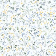 meadow flower pattern
