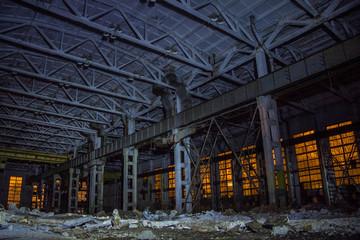 Abandoned Excavator Plant, Voronezh, Russia