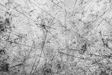 Obraz Gray scratched metal surface. - fototapety do salonu