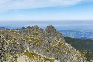 Peaks - Koscielec and Zadni Koscielec.