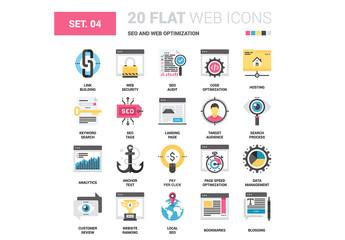 SEO and Web Icon Set
