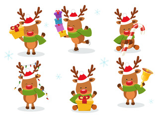 Cute Reindeer Set