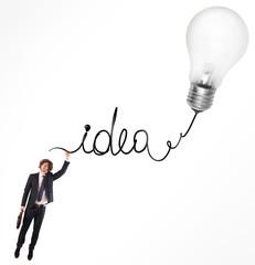 Fototapete - Idea for the development