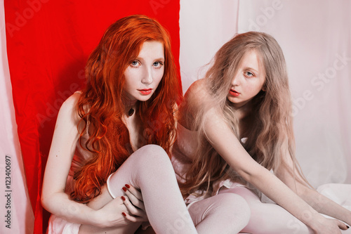Coupledomination redhaired sub gets a cock and strapon 2