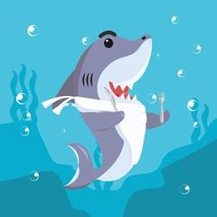 shark ready to eat