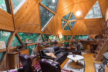 Dome Cabin Living Room