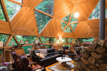 Dome Cabin Living Room-3