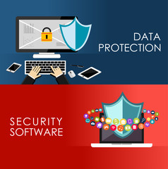 Data protection and security system.