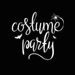 Costume party background