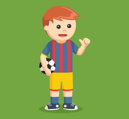 soccer ball player vector illustration design