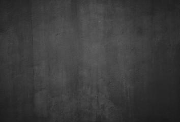Black grunge textured wall