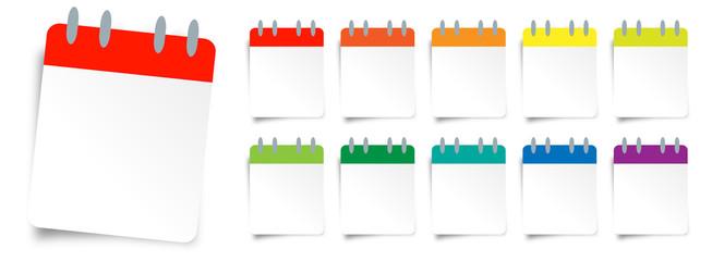 Calendrier à feuilles / Daily calendar