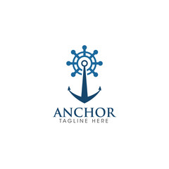 Anchor Creative Concept Logo Design
