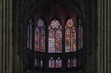 Vitrail de la cathédrale de Troyes