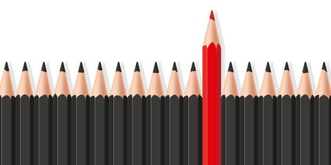 Leader - Symbole - Crayons