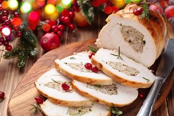 Turkey  breast for holidays.