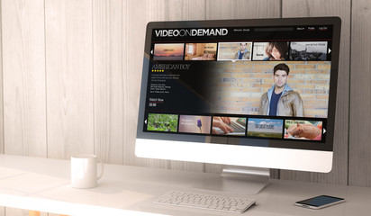 desktop computer video on demand