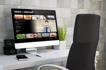 industrial workspace video on demand
