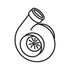 lines turbine icon