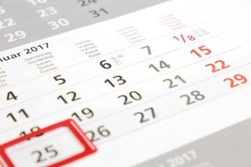 Kalender - Termin - Erinnerung
