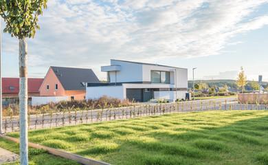 Einfamilienhäuser im Grünen