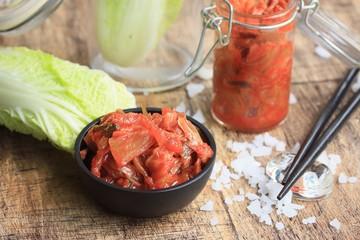kimchi cabbage - korean food
