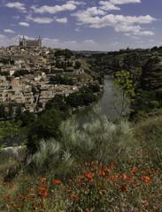 Panoramic view Toledo Spain