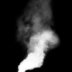 smoke abstract. movement of smoke ink. Abstract design of powder ink cloud.