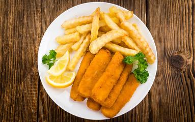 Fish Fingers (selective focus)