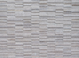 Grey tile wall texture arrange in stack pattern