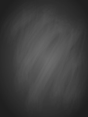 Vertical chalkboard background. Vector illustration.