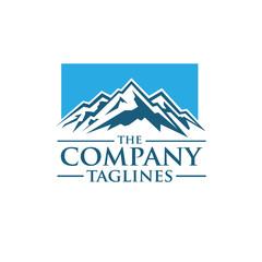 Mountains vector logo concept ,Mountain Expedition . Tourism Vector template