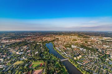 Panorama von Münster in Westfalen