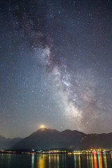Milky Way Thunersee Niesen